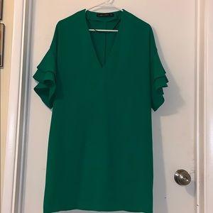 Green Zara Dress